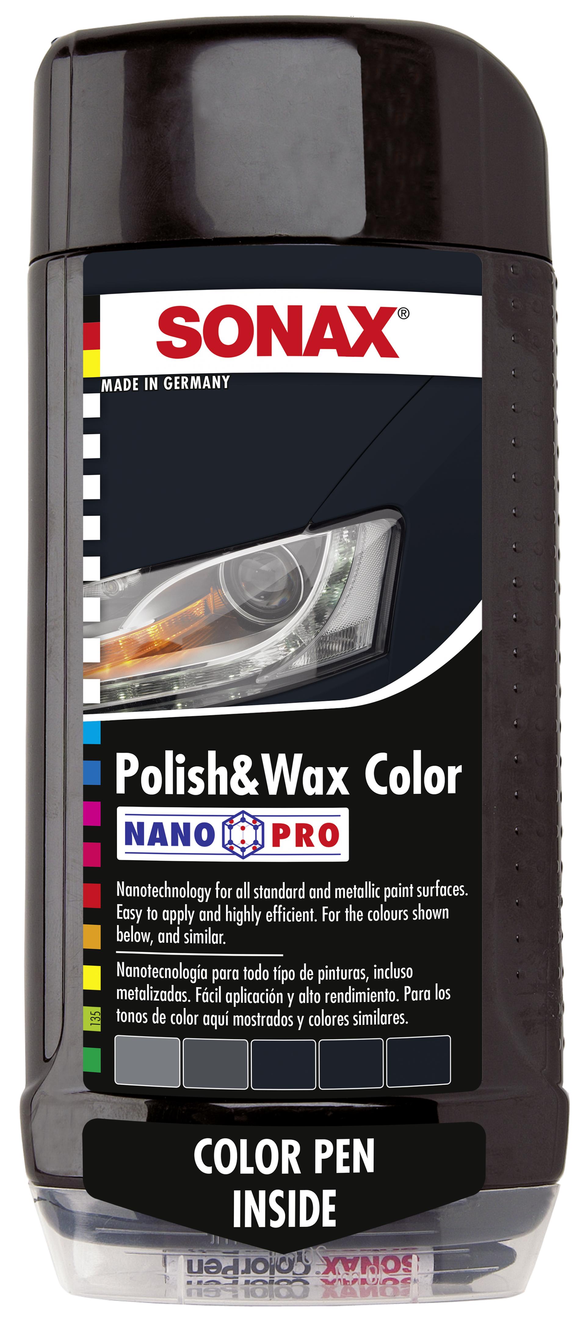 SONAX Polish & wax color NanoPro