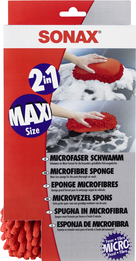 SONAX Microfibre sponge